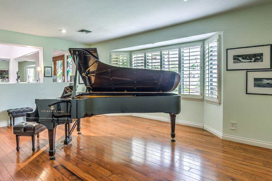 foyer grand piano quail senior care home