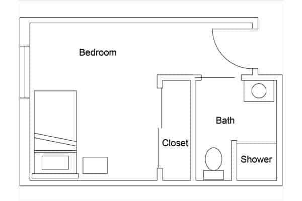 02 room plan sourth courtyard overlook
