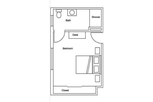 room plan west study